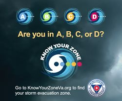 Know Your Zone. Are you in A, B, C or D?  Click here for more information.