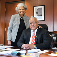 Dr. Melvin T. Stith '68 and Dr. Patricia L. Stith '68