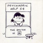 Lucy- Peanuts character- psychiatric help 5cents